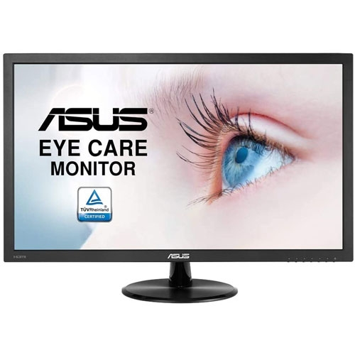 Asus VP247HAE Eye Care Monitor, Flicker Free, 23.6-Inch FHD Wide Viewing Angle, Ultra-low Blue Light Monitor | 90LM01L0-B05170