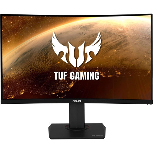 Asus TUF 32 Inch WQHD Curved HDR Gaming Monitor,Extreme Low Motion Blur Sync™,1ms 144Hz Refresh Rate | 90LM0410-B01170