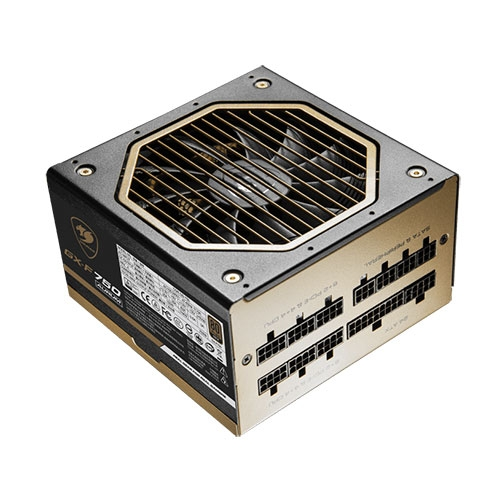 Cougar GX-F Aurum 650 Watts 80 Plus Gold Certified Fully Modular Power Supply | CGR GD-650 AURUM