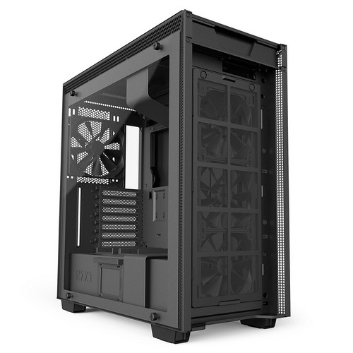 NZXT H700i Mid-Tower Computer Case Black/Black | CA-H700W-BB