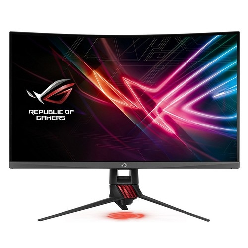 ASUS XG32VQ ROG Strix Curved 32 Inch (31.5 Inch) WQHD (2560 x 1440), VA, Up to 144 Hz, 125 Percent sRGB, DP, HDMI, FreeSync, AuraSync | XG32VQ