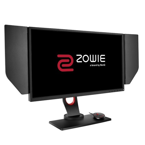 BenQ ZOWIE 24.5 inch 240Hz eSports Gaming Monitor, DyAc, 1080p, 1ms Response Time, Black eQualizer, Color Vibrance, S-Switch, Shield, Height Adjustable | XL2546