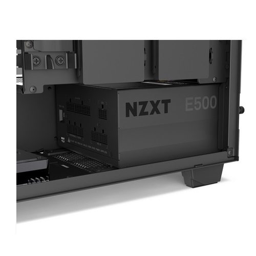 NZXT E500 Fully Modular 500 Watts 80 Plus Gold Power Supply with Digital Monitoring | E500
