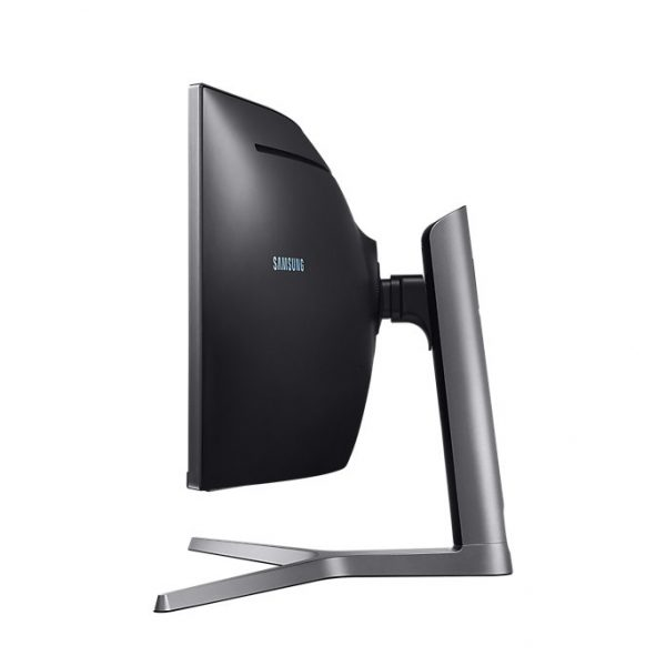 """Samsung 49"""" Curved Monitor with metal Quantum Dot technology 