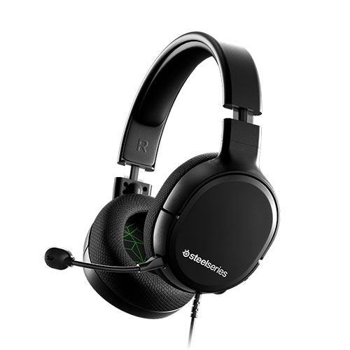 Steelseries Arctis 1 Wired Gaming Headset - Detachable Clearcast Microphone - Lightweight Steel-Reinforced Headband for XBox - Black | 61426