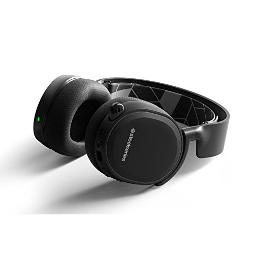 SteelSeries Arctis 3 Bluetooth (2019 Edition) Wired Gaming Headset + Bluetooth - For Nintendo Switch, PC, PlayStation 4, Xbox One, VR, Android, and iOS - Black | 61485