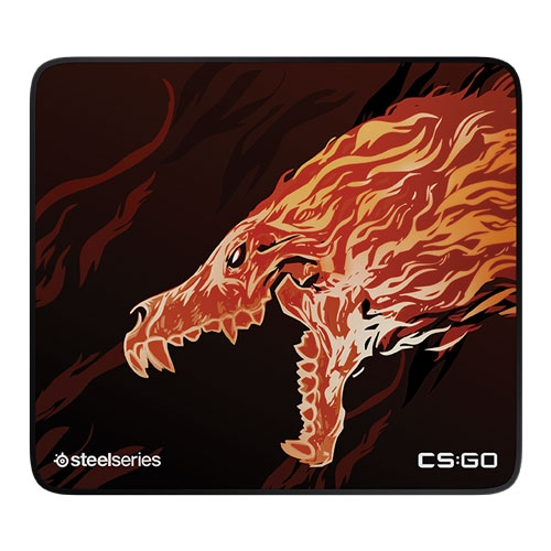 SteelSeries Qck+ Limited CS:Go Howl Edition Gaming Mouse Pad | 63403