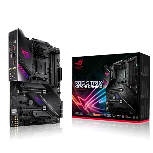 Asus AMD X570 ATX gaming motherboard with PCIe 4.0, 2.5 Gbps and Intel Gigabit LAN, Wi-Fi 6 (802.11ax), 16 power stages, dual M.2 with heatsinks, SATA 6Gb/s, USB 3.2 Gen 2 and Aura Sync RGB lighting | 90MB1150-M0EAY0