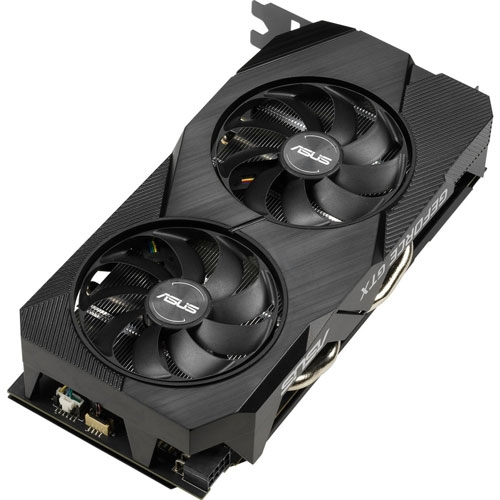 Asus Dual GeForce GTX 1660 6GB OC Edition GDDR5 EVO Graphics Card | 90YV0D11-M0NA00