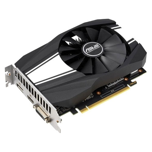 Asus GeForce GTX 1650 4GB Phoenix Fan Overclocked Edition Graphics Card | 90YV0E40-M0NA00