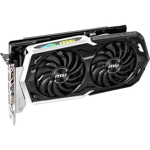 Msi GeForce RTX 2060 SUPER ARMOR OC 8GB 256-Bit GDDR6 PCI Express 3.0 x16 HDCP Ready Graphics Card - Black | 912-V375-217