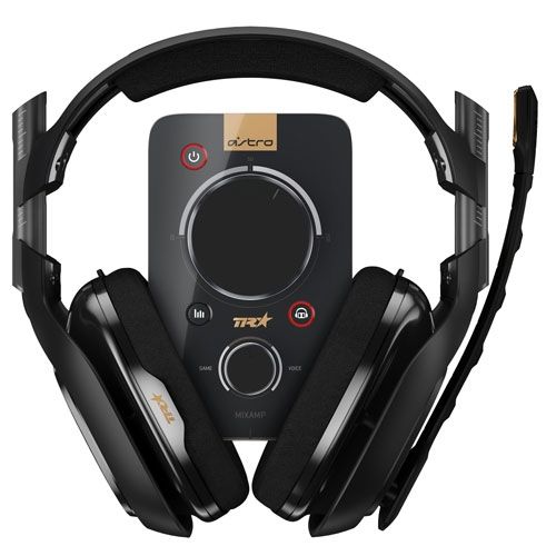 Astro Gaming A40 TR Black Dolby Digital 7.1 Gaming Headset + MixAmp Pro TR For PS4, PC and MAC | 939-001533