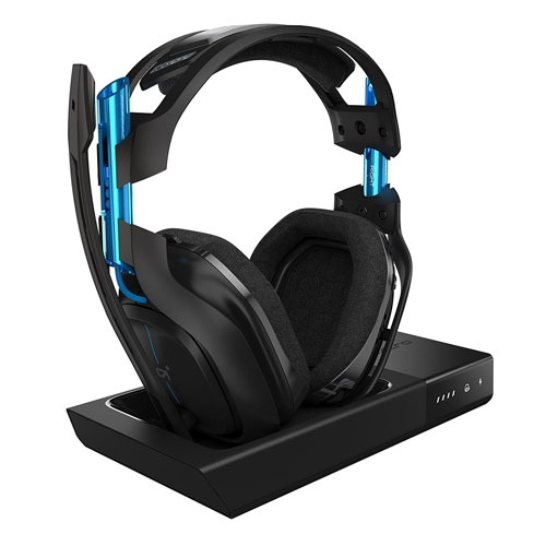 Astro A50 Wireless 5Ghz Surround sound Dolby 7.1 Gaming Headset Black / Blue - PS4 - PC   939-001538