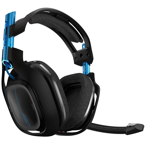Astro A50 Wireless 5Ghz Surround sound Dolby 7.1 Gaming Headset Black / Blue - PS4 - PC | 939-001538