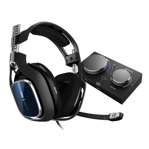 Astro A40 TR Headset + MixAMP PRO TR For PS4 - Black