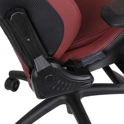 Anda Seat Kaiser Series Premium Gaming Chair, High-Back Desk and Recliner Swivel Office Chair 400LB With Lumbar Support and Headrest - Red | AD12XL-02-AB-PV/C