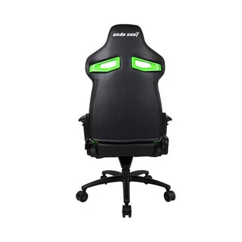 Andaseat Massive Series High-Back Ergonomic Design PVC Leather Gaming Chair With 4D Adjustable Armrests  - Black/Green   AD3XL-01-BE-PV
