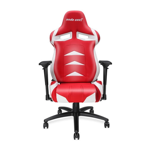 Andaseat Andrade E-sports Golden Eagle Computer Gaming Chair  - Red / White | AD3-01-RW-PV