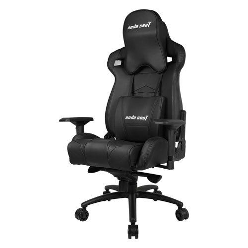 Andaseat Massive Series High-Back Ergonomic Design PVC Leather Gaming Chair With 4D Adjustable Armrests - Black | AD3XL-01-B-PV