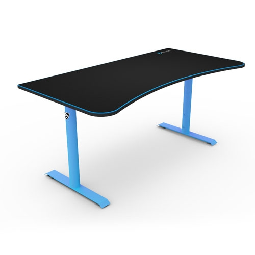 Arozzi Arena Gaming Desk - Blue | ARENA-NA-BLUE