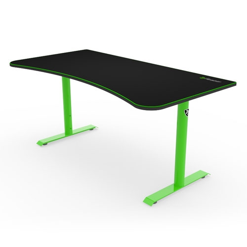 Arozzi Arena Gaming Desk - Green | ARENA-NA-GREEN