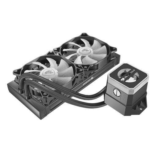 Cougar Helor 240mm with Addressable RGB CPU Liquid Cooler | CG-CL-HELOR240-RGB