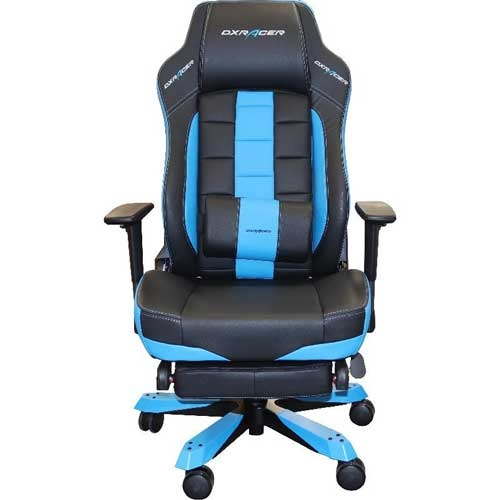 DXRacer Classic Series Gaming Chair, Multi System Compatible - Black/Blue | GC-C120-NB-T1