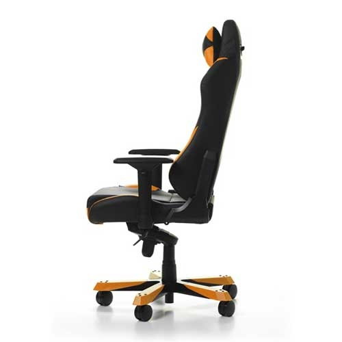 DXRacer Iron Series With Multifunctional Control Unit - 4D Armrests - Headrest and Lumbar Cushions Gaming Chair - Black/Orange | GC-I166-NO-S2