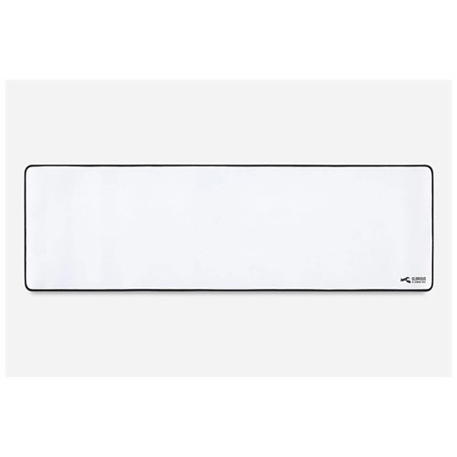 "Glorious EXTENDED 11""x36"" Gaming Mouse Pad / Mat - White 