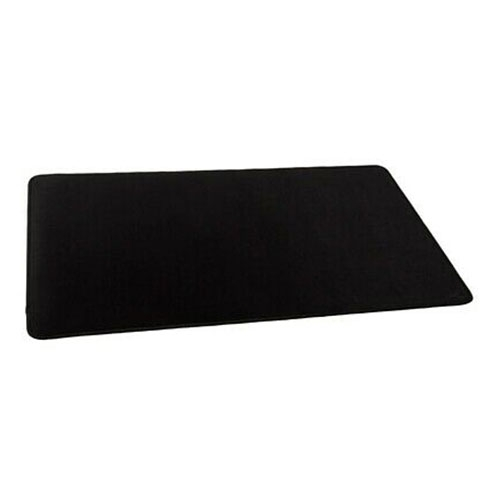 """Glorious XL Stealth Edition 16""""x18"""" Gaming Mouse Pad, Long Black Cloth, Stitched Edges - Black 