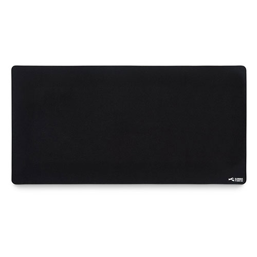 """Glorious XXL Extended Gaming Mouse Mat, Stitched Edges 18"""" x 36"""" - Black 