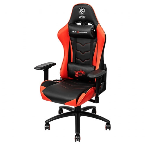 MSI MAG CH120 4D Multi-Adjustable Armrests Gaming Chair - Black / Red