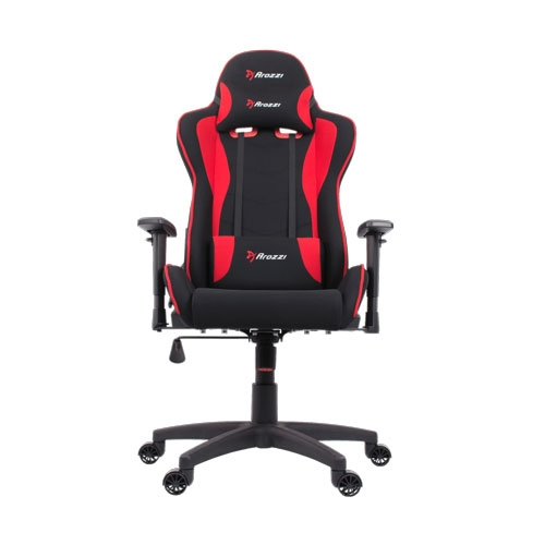 Arozzi Mezzo V2 Gaming Chair Fabric - Red | MEZZO-V2-FB-RED