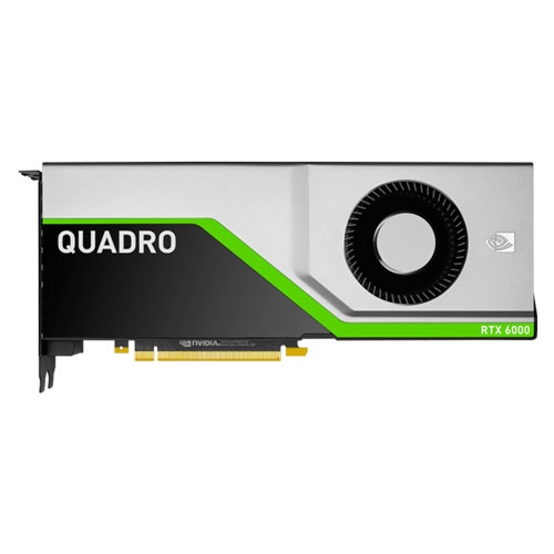 PNY Quadro Nvidia RTX 6000 24GB 384-Bit Graphics Card | VCQRTX6000-PB